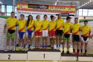 Euskadi domina en el inicio de la Copa de España de pista
