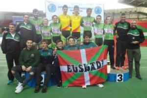 Euskadi se lleva la Copa de España de pista