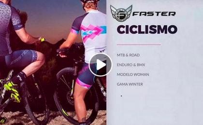 Faster presenta su nueva tienda online