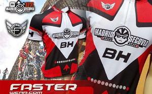 Faster Wear presenta el maillot oficial de la BH Madrid Segovia