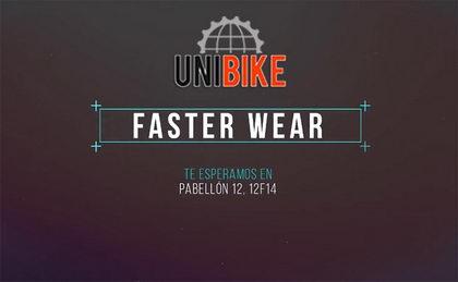 Faster Wear presentará todas sus novedades en Unibike 2017