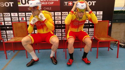 Finaliza la Copa del Mundo Pista en Chile para los pistards españoles