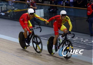 Finalizan los europeos de pista con más medallas