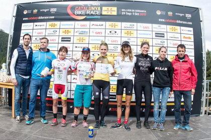 Francesc Guerra y Clàudia Galicia ganadores de la Catalunya Bike Race