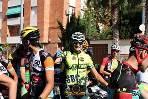 Francisco Antonio Morón en el Top Ten de la Vuelta Andalucía MTB
