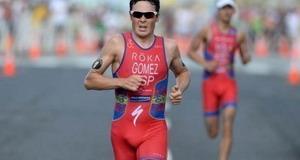 Gómez Noya se hace con la plata en Auckland