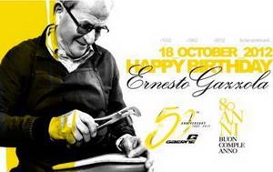 Gaerne celebra su 50 cumpleaños