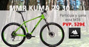 Gana una MMR Kuma 29 gracias a Bicicletas Pasaje
