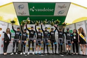 Geraint Thomas estrena el liderato del Tour del Romandía