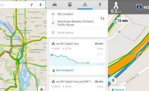 Google maps mejora sus servicios para ciclistas