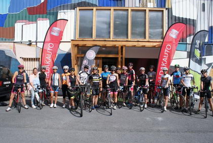 Gorliz acogió el primer Women Cycling Day by Verge Sport