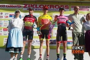 Gran victoria de Aitor Hernández al sprint en Karrantza