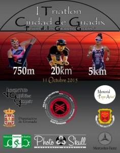 Guadix acoge el próximo 11 de octubre su I Triatlón