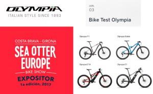 Haz ya tu reserva para probar las bicicletas Olympia en Sea Otter Europe