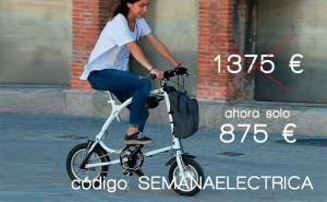 Hazte con tu bicicleta Ossby eléctrica a un precio nunca visto