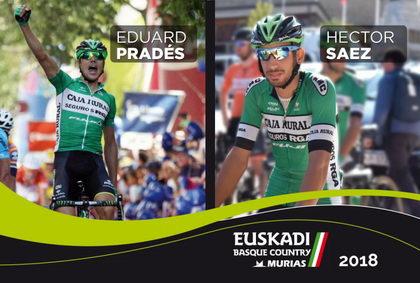 Héctor Sáez y Eduard Prades fichan por el Euskadi Basque Country – Murias Taldea