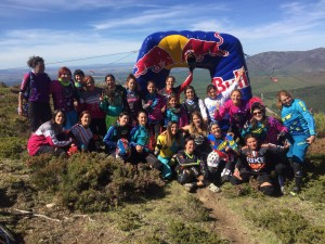 Holy Bike Red Bull entre chicas: Mis queridas EnDhureras