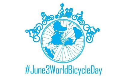 Hoy 3 de junio celebramos el día Mundial de la bicicleta