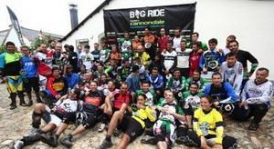 Triplete del BikeZona Team en el Big Ride Manzaneda