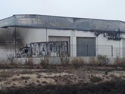 Incendio en una de las fábricas de BH en Portugal