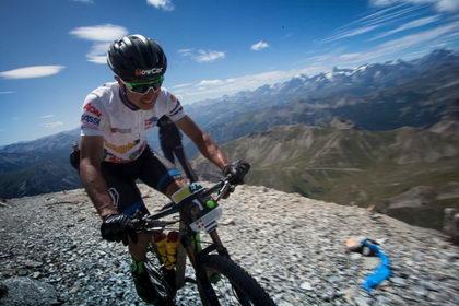 Iron Bike: Milton Ramos se exhibe en la escalada al Monte Chaberton