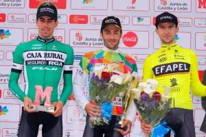 Jaime Rosón cierra la Vuelta a Castilla y León como segundo