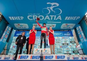 Jaime Rosón lidera el Tour de Croacia para el Caja Rural-Seguros RGA