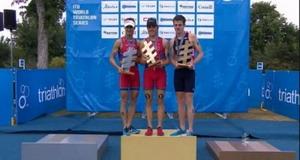 Javier Gómez Noya campeón del mundo de triatlón por cuarta vez