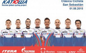 Joaquim Rodriguez lidera al Katusha en la Clásica de San Sebastian