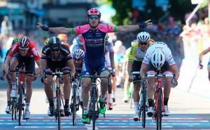 Jornada tranquila para Contador y Landa en el Giro