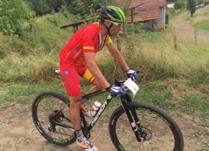 Jose Antonio Hermida terminó el 14 en los Europeos