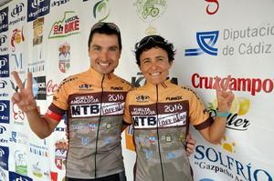 José Luis Carrasco y Cristina Barberán ganan la Vuelta Andalucía
