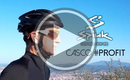 Josema Fuente prueba el casco Profit  #HEXA de Spiuk