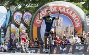 Juanjo Lobato gana la 1ª etapa de la Vuelta a Burgos