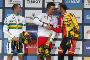 Kwiatkowski consigue la primera medalla de oro en Ponferrada