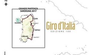 La edición 100 del Giro comenzará en Cerdeña el 5 de Mayo