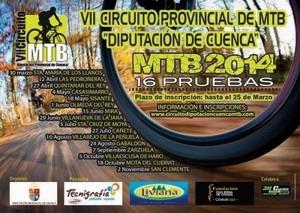La II Marcha MTB Sta. Cruz de Moya será un circuito de 34kms