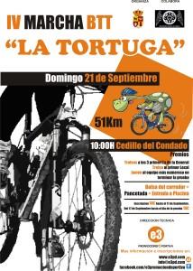 La IV Ruta BTT La Tortuga este domingo