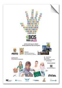 La Marcha solidaria BTT Pinto-Bicis para la vida