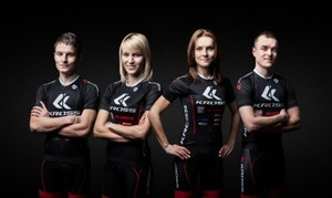 La medallista olímpica Maja Włoszczowska ficha por Kross
