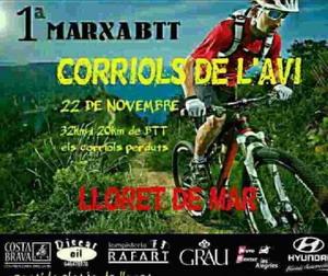 La primera marcha BTT Corriols será el 22 de noviembre