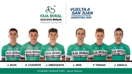 La temporada 2018 comienza en la Vuelta a San Juan para el Caja Rural