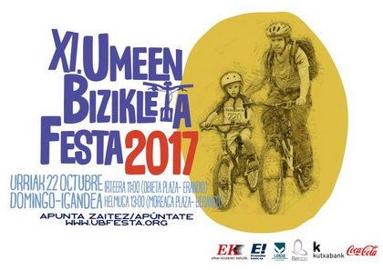 La XI. Umeen Bizikleta Festa reunirá a miles de ciclistas
