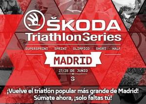 Las Skoda Triathlon Series comienzan en Madrid