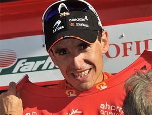 La vuelta: Igor Antón mantiene su liderato