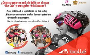 Lizarte y Bollé sortean un pack de material ciclista