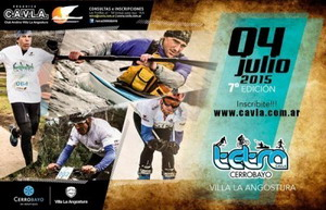 Llega el Tetra Cerro Bayo, mountan bike, ski, kayak y running