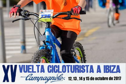 Los más peques tienen también su sitio en la  Vuelta Cicloturista a Ibiza Campagnolo