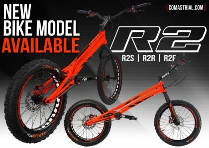 Los rodamientos ISB Sport dan alas a las nuevas bicis de trial Comas 1008 R2