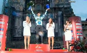 Luis León Sánchez logra el Premio de la Montaña en La Vuelta 2014